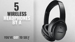 Top 5 A Wireless Headphones [2018]: Bose QuietComfort 35 (Series II) Wireless Headphones, Noise