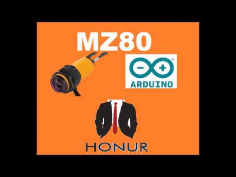 mz80 infrared sensor #arduınocode