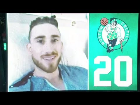 Gordon Hayward sends video message to Boston Celtics fans at home opener | ESPN