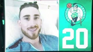 Gordon Hayward sends video message to Boston Celtics fans at home opener | ESPN