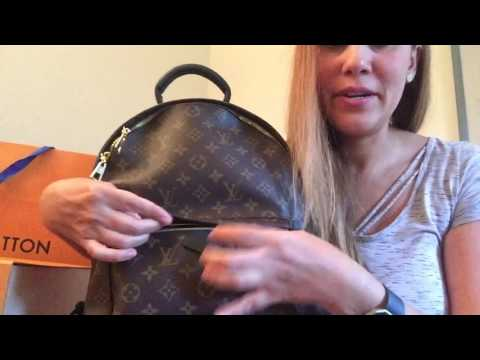 Louis Vuitton Palm Springs Mm Backpack Unboxing