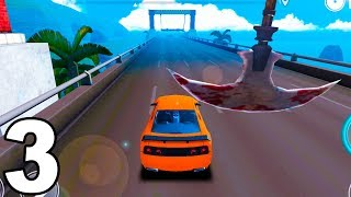 Speed Car Bumps Challenge #3 (by Tulip Apps) Android Gameplay Trailer
