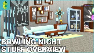 The Sims 4 Bowling Night Stuff - Build & Buy Overview