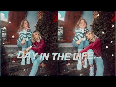 day in the life two RLLY FAMOUS teenage youtubers... (w/ marla catherine!)