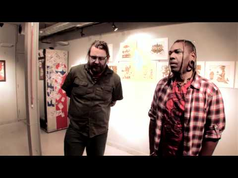 Interview with Osunlade and artist Scott Marr