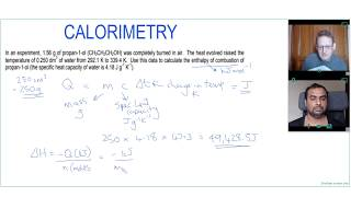How to calculate enthalpy change using calorimetry | A Level Chemistry Tutor