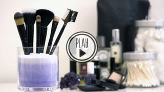 P.S.- I made this...Makeup Brush Holder
