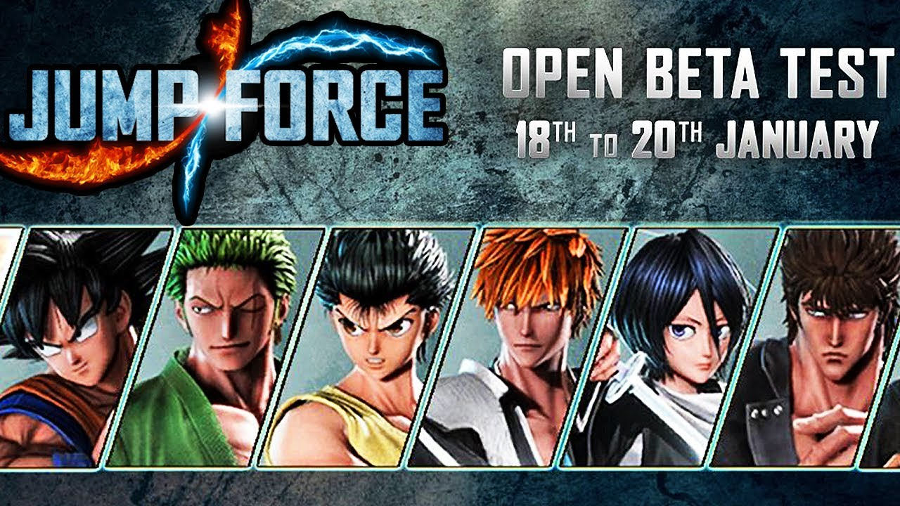 Official Jump Force Open Beta Times For Ps4 Amp Info New