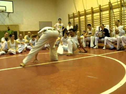 GCB Workshop Budapest 2011. 03. 18-20. Contra-Mestre Panaca & Contra-Mestre Chiquinho
