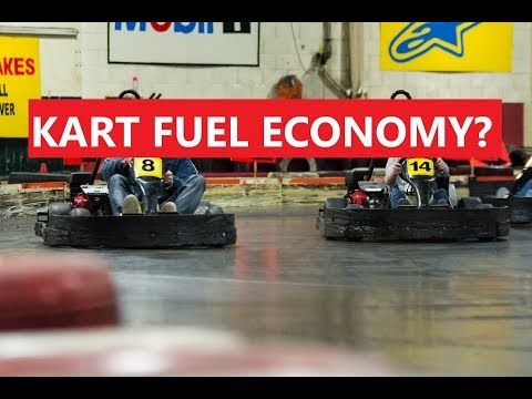 How good is kart fuel economy while racing?