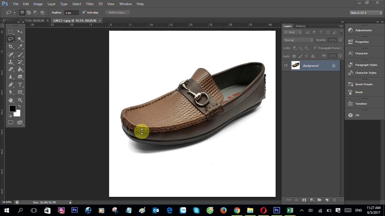 [Photoshop] Hướng Dẫn Cách Tạo Nền Trắng Cho Sản Phẩm (Bán Hàng Online)