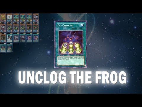 [Yu-Gi-Oh! Duel Links] UNLOAD THE TOAD + Decks I Used to Hit KOG (August 2017)