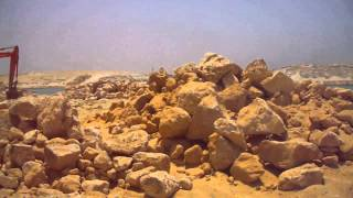 الملاحة بقناة الاتصال بالكيلو84 وتلال الحجارة لتبطين القناة مايو 2015