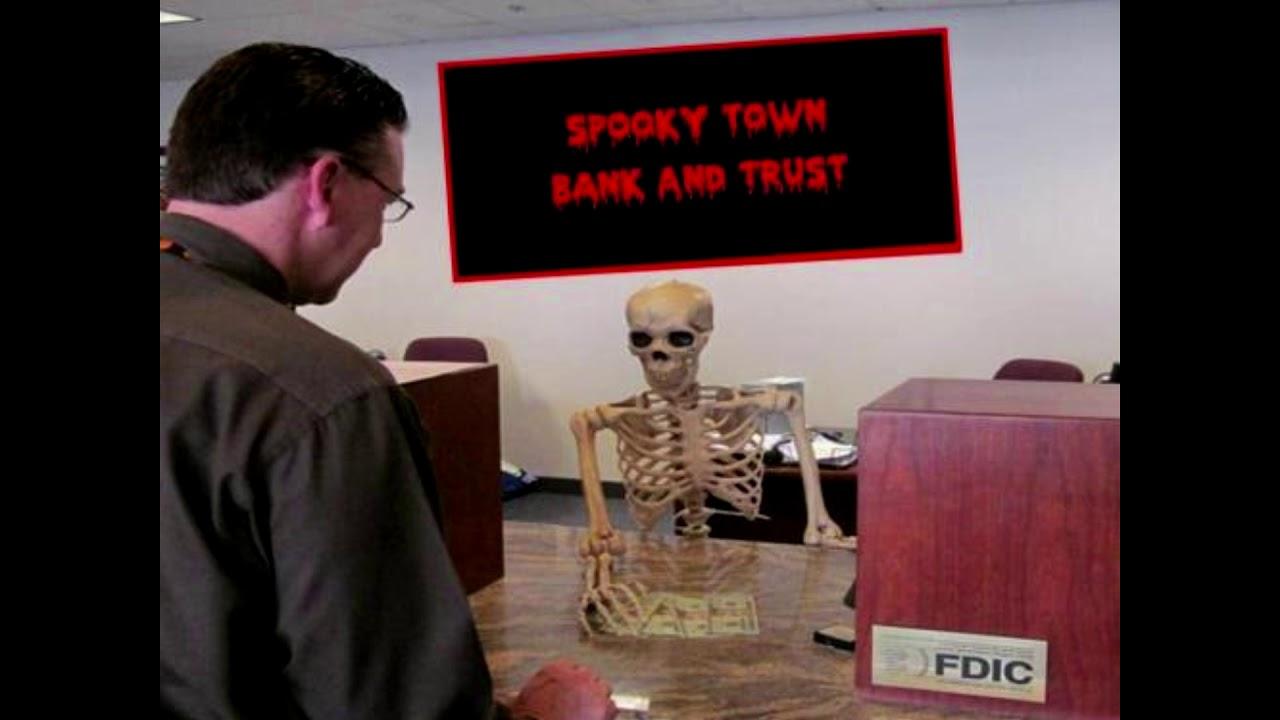skeleton-banker