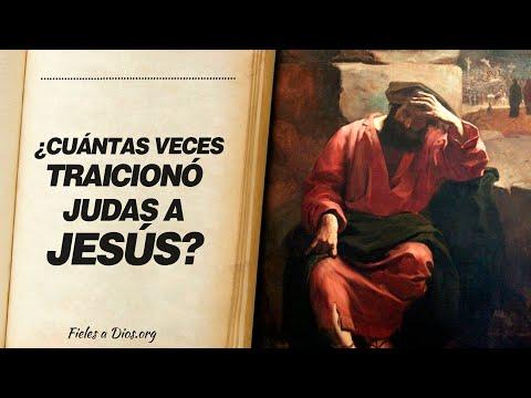 🙏 ¿Cuántas Veces TRAICIONÓ Judas a Jesús? 💔 ¡Descubrelo!