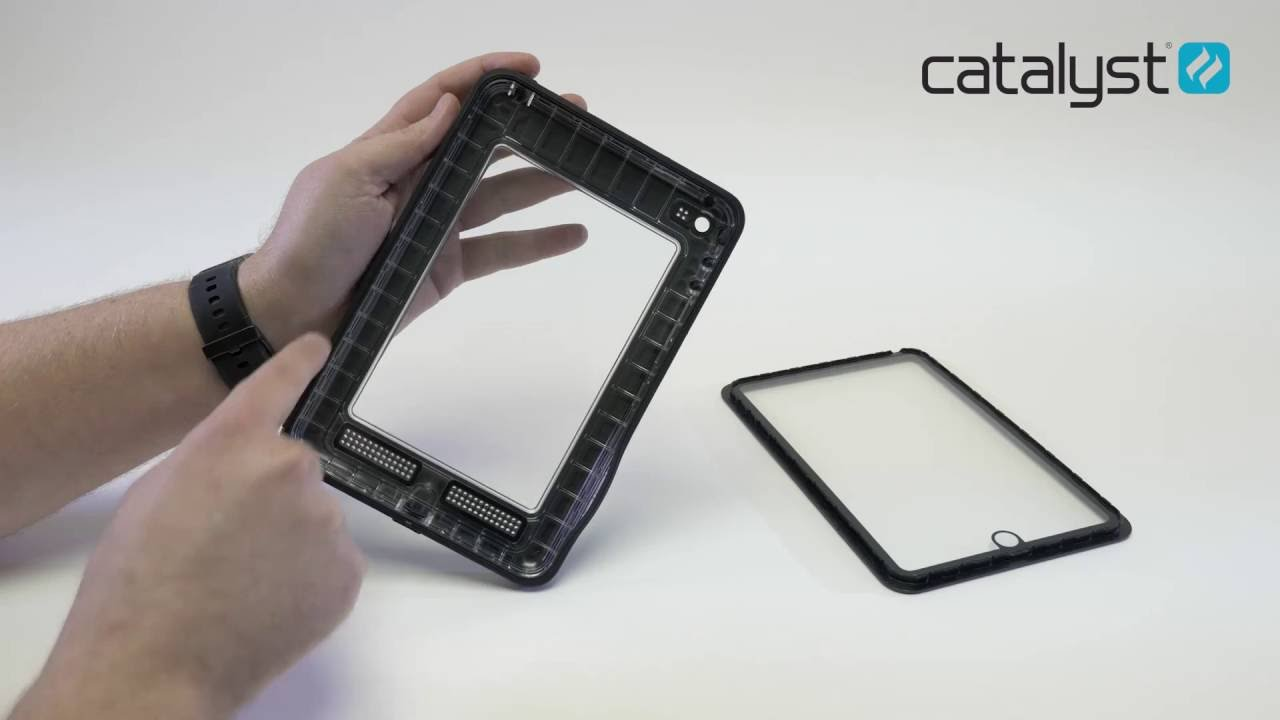 hot sale online 4d5fa f7277 Catalyst Case for iPad / How to Water Test