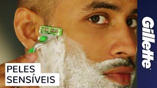 Deve raspar você barba que sua direção em