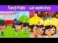 Festivals Of India | Different Types Of Festivals | Kids Festival Compilation Video | Jalebi Street