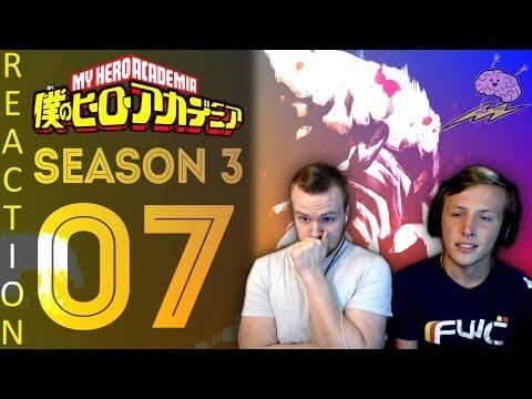 SOS Bros React - My Hero Academia Season 3 Episode 7 - KACCHAN!!!