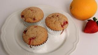 Strawberry Orange Muffins Recipe - Laura Vitale - Laura In The Kitchen Episode 375