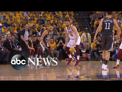 Warriors Score 2nd Victory Over Cavs In NBA Finals