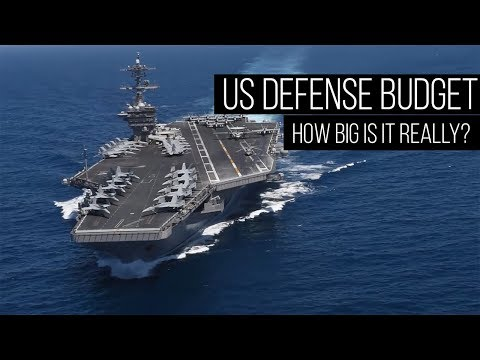 How Big Is The US Defense Budget REALLY?