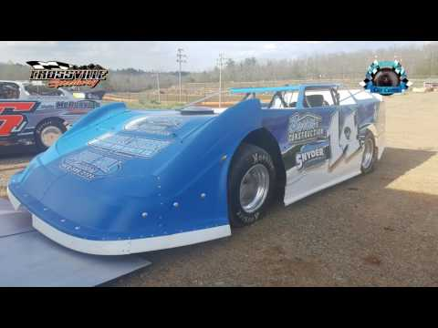 #14 Johnathan Hampton - Sportsman - 4-14-17 Crossville Speedway - In-Car Camera