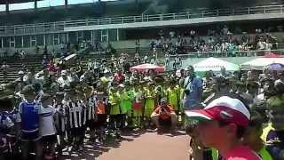 Награждаването на децата от Набор 2004 на Детския футболен турнир Ливърпул България