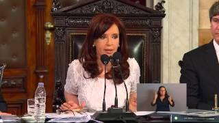 Visión 7: El discurso de Cristina ante la Asamblea Legislativa