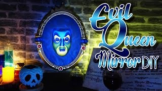 Disney DIY - EVIL QUEEN MIRROR & POISONED APPLE TUTORIAL ENG/FR
