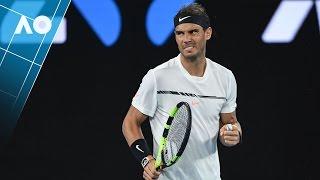 Federer V Nadal: Set 4 Highlights (Final)   Australian Open 2017