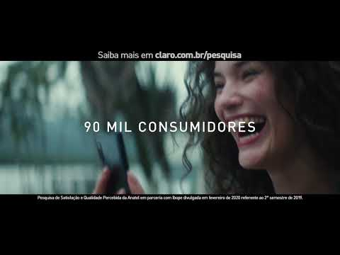 Clientes mais satisfeitos | Anatel | Claro from YouTube · Duration:  31 seconds