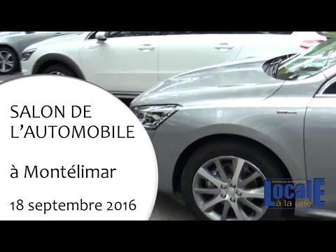 Salon de l'automobile de Montélimar 18 09 2016