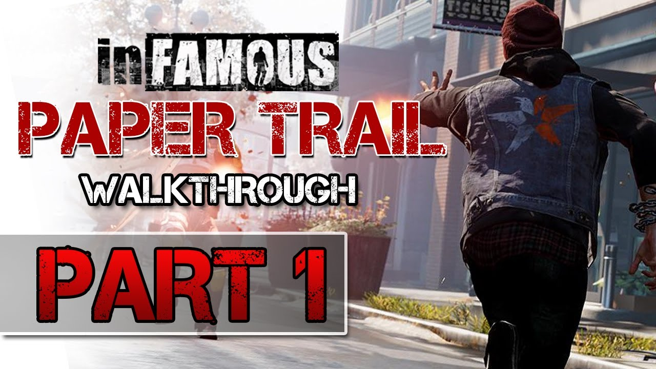 infamous paper trail part 3 help Mission #1 the second part to the paper trail begins on the broken bridge connecting the northern set of districts to the southern set when you reach the marker and begin the mission, you will once again have to follow celia through a series of twists and turns.