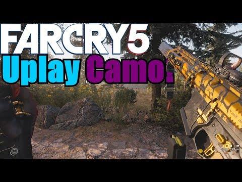 Far Cry 5 - How to Unlock the UplayCamo !
