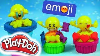 Play Doh • Babeczkowa Karuzela • Babeczki Emoji • Emotki Film • Kreatywne zabawki