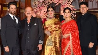Repeat youtube video Madhuri Dixit's Manager Rikku's Daughter's GRAND Wedding Reception 2016 Full Video HD