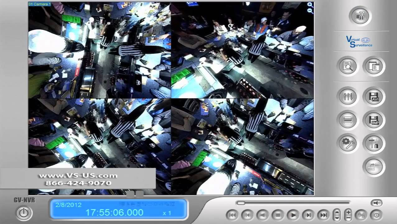 360 degree fisheye security camera demo virtual. Black Bedroom Furniture Sets. Home Design Ideas