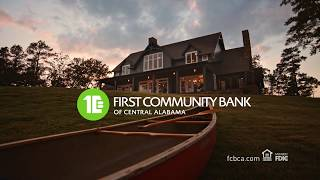 "First Community Bank of Central Alabama ""FIRSTS"" spot"