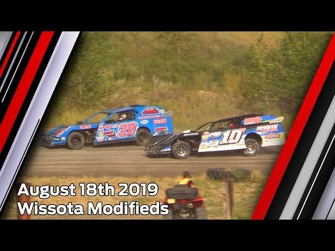August 18th 2019, ALH Wissota Modifieds Heats & Feature