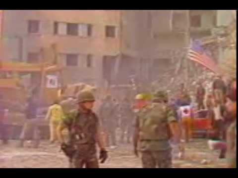 1983 Beirut Embassy And Marine Barrack Bombings During Israeli Invasion Of Lebanon