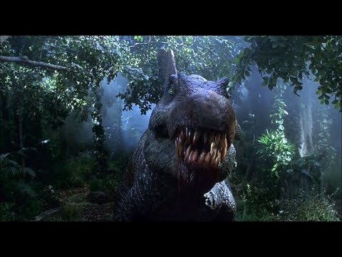 jurassic park 3 spinosaurus destroys plane scene and t