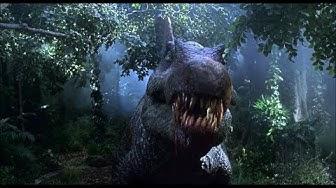 Jurassic Park 3 - Spinosaurus destroys Plane scene (and T-Rex vs Spinosaurus)
