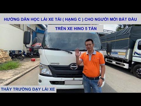 Hướng dẫn học xe tải ( Dấu C ) cho người mới bắt đầu - Dạy Lái Ô Tô Trường Hải [ daylaixehoi.vn ]