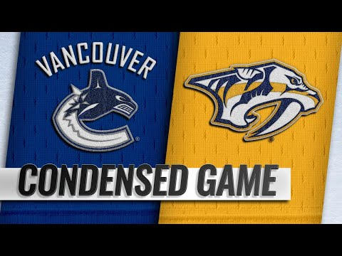 12/13/18 Condensed Game: Canucks @ Predators