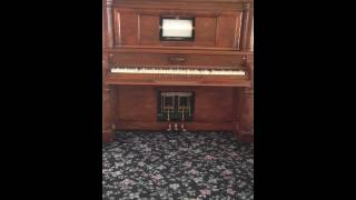 Boogie Woogie, player piano, J Lawtrence Cook, E P Johnson Player Piano