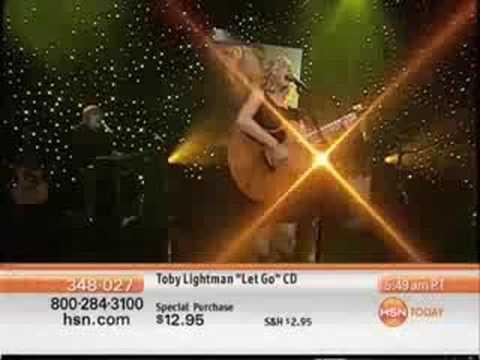 Toby Lightman - Let Go (Live On HSN)