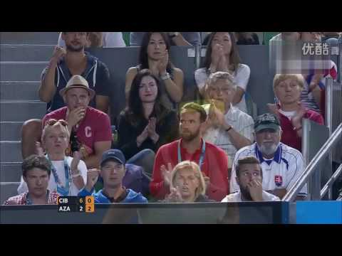 Dominika Cibulkova VS Victoria Azarenka Highlight 2015 AO R4