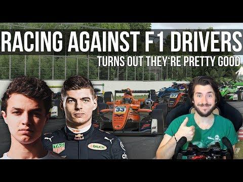 I Got To Race Against FORMULA 1 Drivers!!!