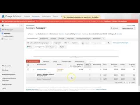 Google Adwords - Keyword Planner plant zu ungenau